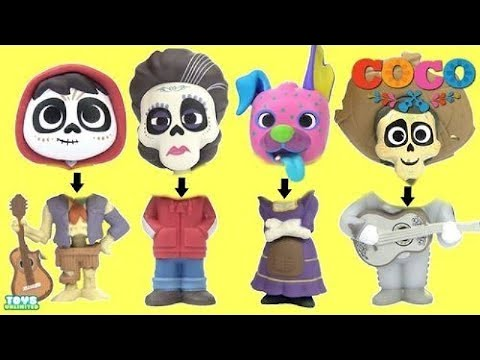 New Toys from Disney PIXAR's COCO Movie With Miguel Rivera, Ernesto & Koko