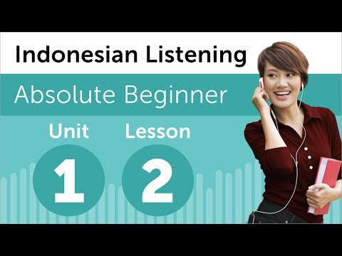 Indonesian Listening Practice - At a Restaurant in Indonesia