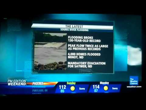 The Weather Channel - PM Edition Weekend Open for 6/25/2011