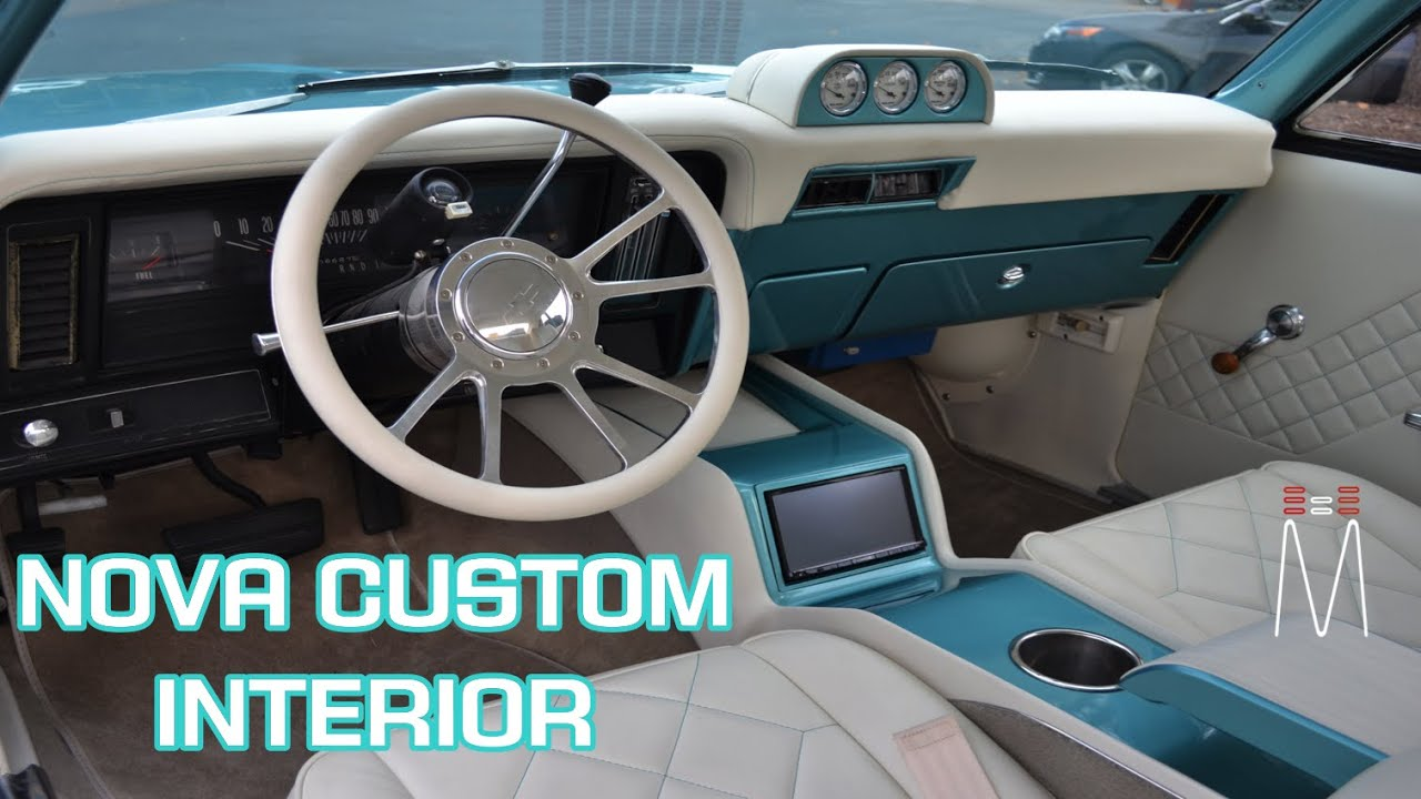 1971 chevy nova custom center console and gauge pod build [ 1280 x 720 Pixel ]