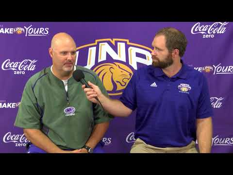 University of North Alabama Football Practice 8 21 2017