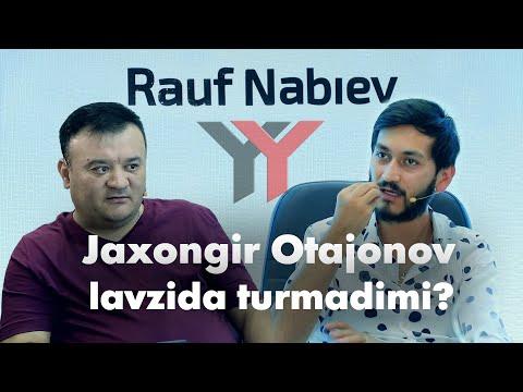 JAXONGIR OTAJONOVNING PULI YETMADIMI? CLIPMAKER RAUF NABIEV BILAN INTERVYU  CHOTKI TV #intervyu