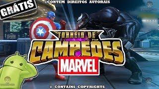 JOGO DE LUTA DE SUPER HEROIS MARVEL # MARVEL TORNEIO DE CAMPEÕES