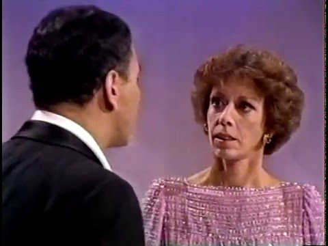 Carol Burnett and Alan Arkin singing 1979