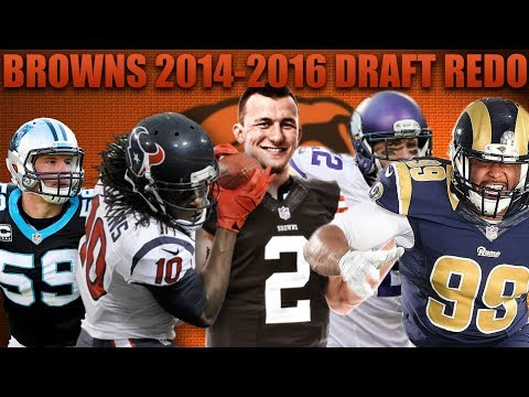 Cleveland Browns 2012-2014 Nfl Draft Redo! Madden 18 Browns Franchise Experiment!