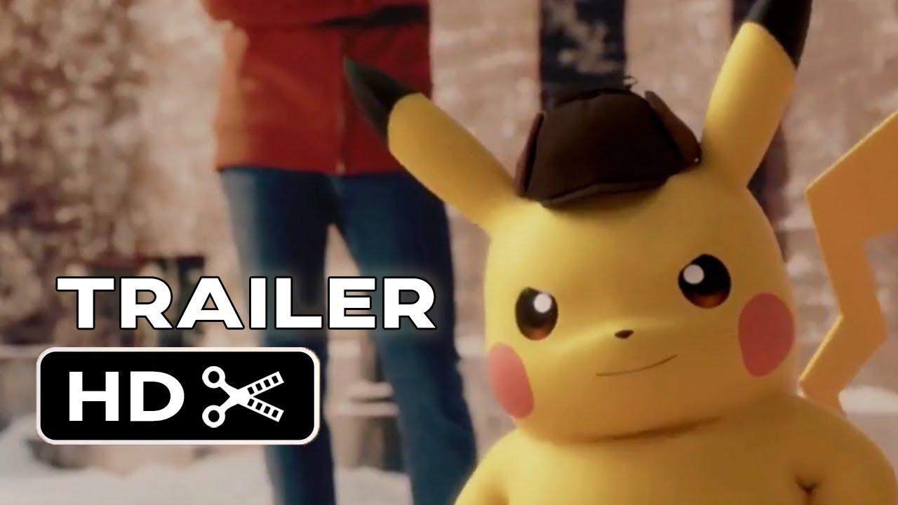 4476ea301 Detective Pikachu Teaser Trailer FAN MADE (2019) Ryan Reynolds, Pokemon  Movie HD