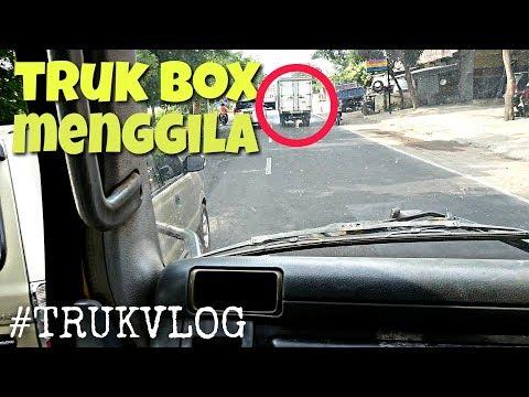 SLINTUTAN DENGAN TRUK BOX | PONOROGO | #TRUKVLOG 09