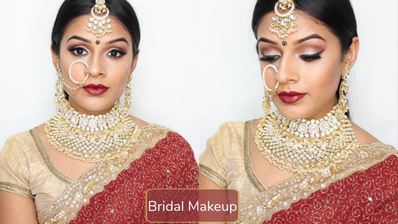 Indian / Tamil GRWM | Desi Wedding Makeup - YouTube