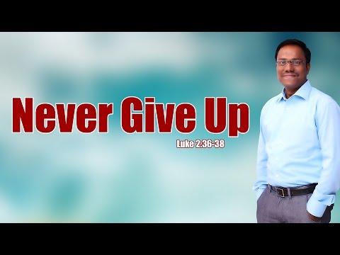 నిరాశను అధిగమించండి - Never Give Up- Dr.Noah R.Ajay Kumar.