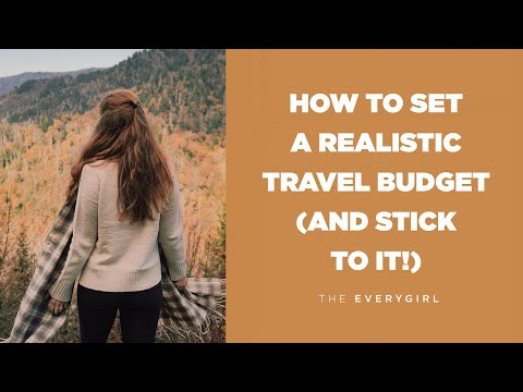 Travel Tips: How to Set a Travel Budget (and Stick to It!)  •  Travel Diaries