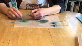 Gum Paste Flowers: How to Make Ivy Leaves