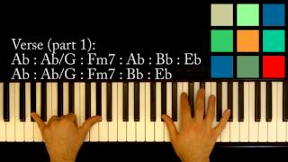 "How To Play ""Somebody To Love"" Piano Tutorial (Queen)"