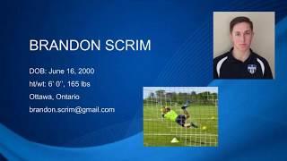 Brandon Scrim Soccer Spring 2017 OSU Highlight Video