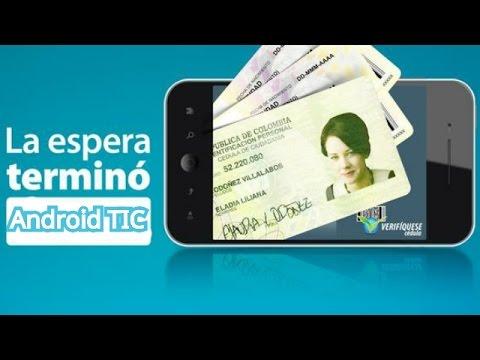 Verifiquese Cédula (solo En Colombia) Android TIC