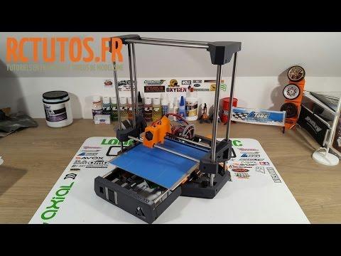 Dagoma DiscoEasy 200 Assemblage part 3 Partie haute et Extrudeur - RC 3D - RCTutos #176