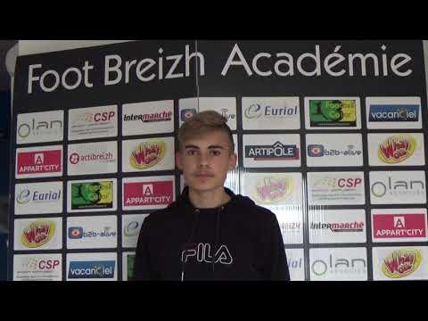 Interview Ethan JULES élève Du Sport-études FOOT BREIZH ACADEMIE