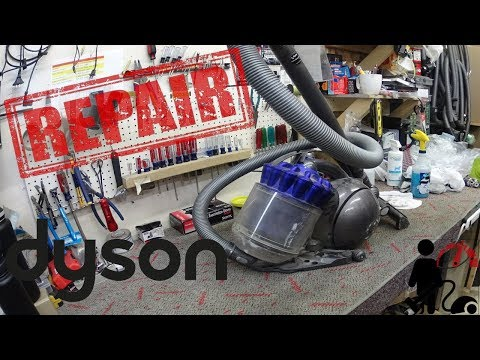 Dyson DC39 Animal vacuum cleaner Repair Worst Dyson canister ?