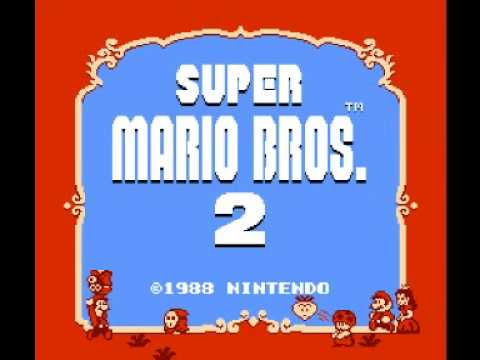 super mario bros 2 nes music overworld theme youtube. Black Bedroom Furniture Sets. Home Design Ideas