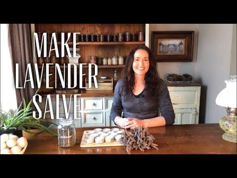 How to Make Lavender Salve - Garden Herbs Collab
