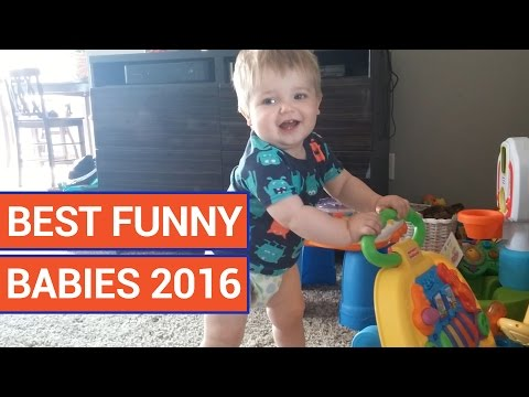 Best Funny Babies Cute Baby Video Compilation 2016