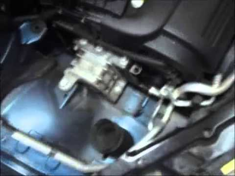 How to Replace the HID Headlights on a Saab 93  YouTube