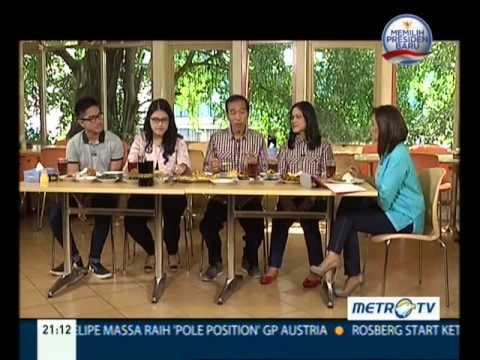 Makan Siang bersama keluarga Joko Widodo