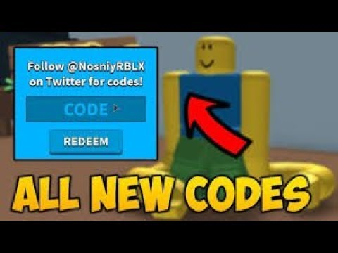 roblox noodle arms all codes