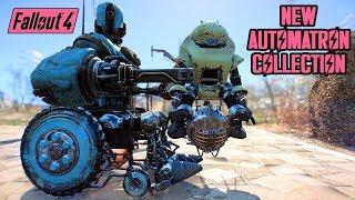 Fallout 4 - ROBOTS w/ WHEELCHAIRS, UFO