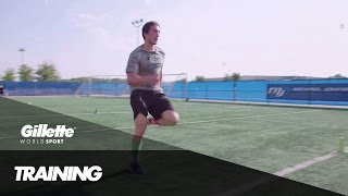 Sprint Training at the Michael Johnson Performance Centre | Gillette World Sport