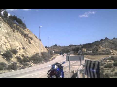 Spin to mountains in Murcia