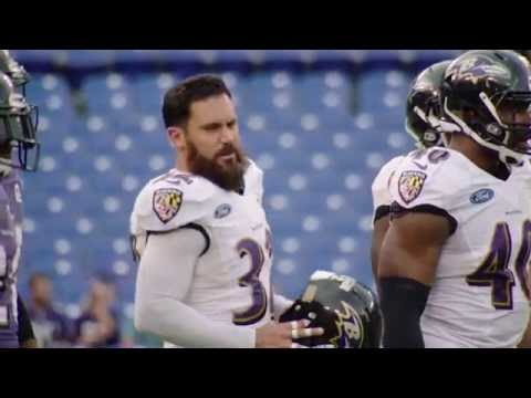 Eric Weddle Goes Head To Head With Dennis Pitta   Wired   Baltimore Ravens