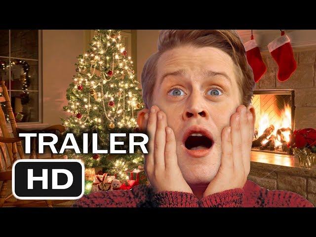 Home Alone Christmas.Home Alone Christmas Reunion 2019 Movie Trailer