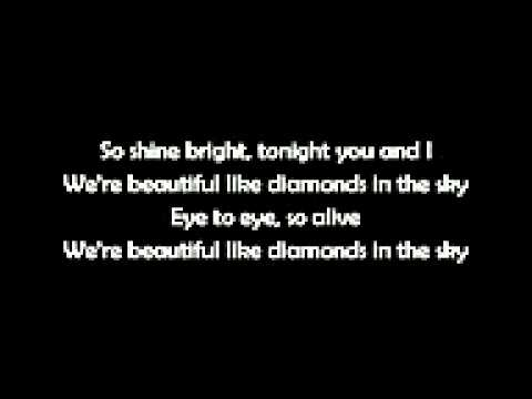 Rihanna-Diamonds (LA LETRA)