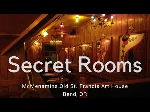 McMenamins Old St. Francis: Hidden Rooms Of The Art House
