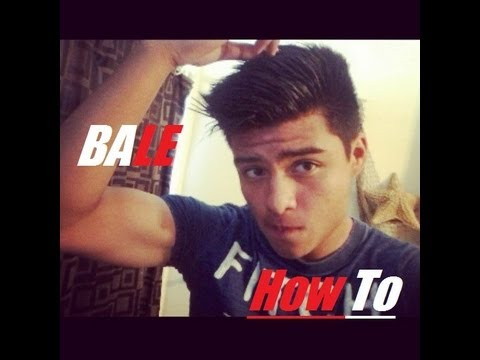 Gareth Bale Hairstyle Tutorial Youtube