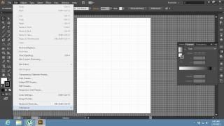 Як змінити розмір сітки в Adobe illustrator CS6