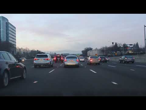 Morning Rush Hour on CA 680 S