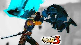 ОГРОМНЫЙ МЕЧ спящего Деда в новой 5 главе Shadow Fight 3. Прохождение бой с тенью от ФГТВ