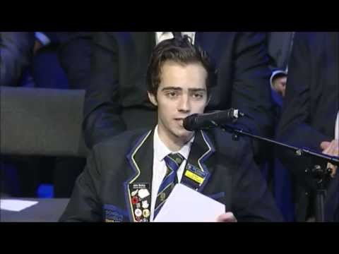 Senior Monitor Jake Bailey's Speech