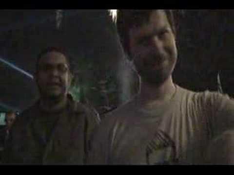 Aphex Twin AFX Live RDJ Backstage Coachella 2008-04-25 TUSS Richard D James in person