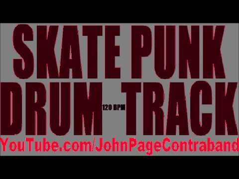 Skate Punk Drum Track 120 bpm FREE Drums Only