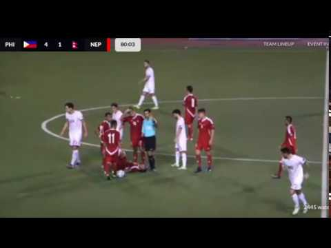 Nepal vs Philippines AFC Asian Cup 2019 Qualifiers