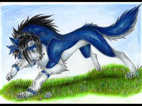 naruto wolves youtube