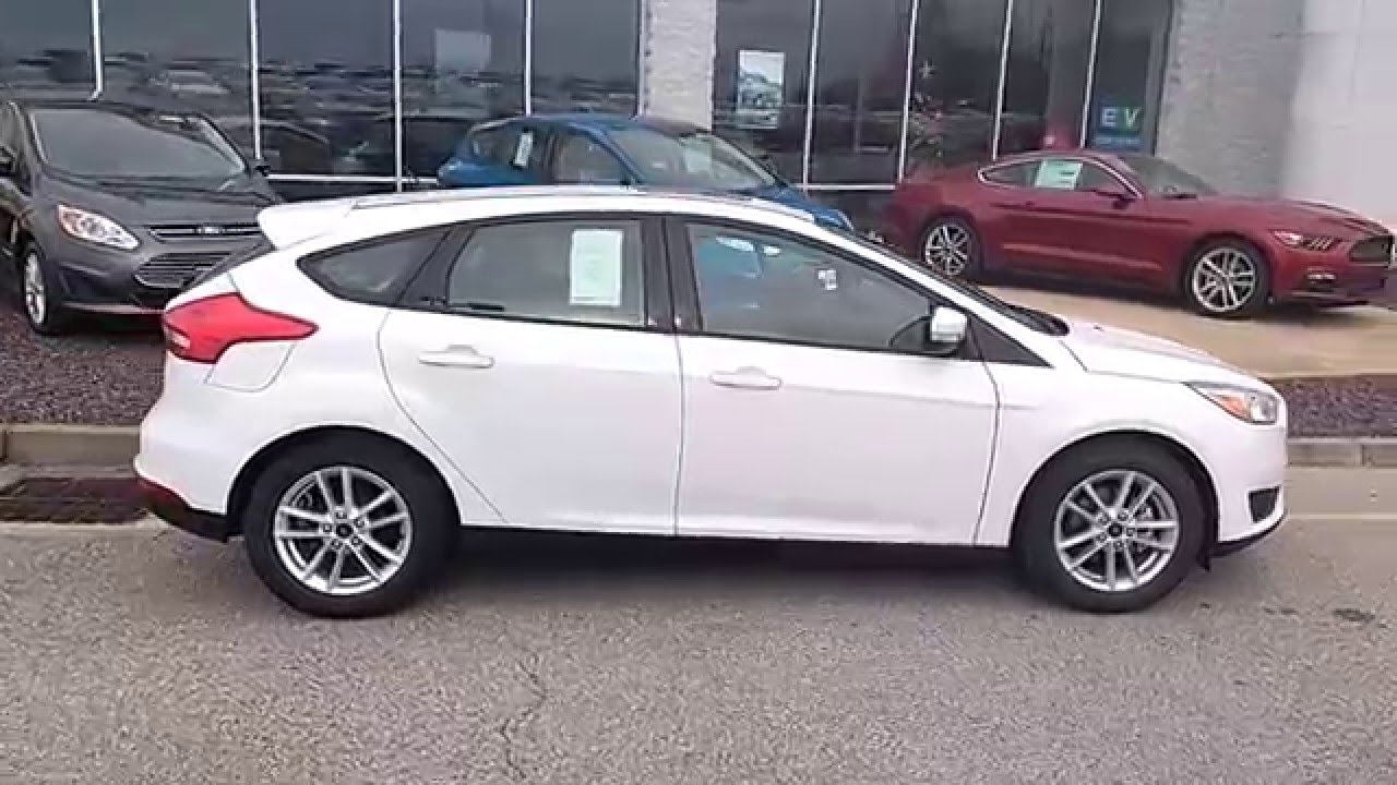 Oxford White 2016 Focus Se Hatchback 2 0l Automatic 200a Moonroof Sirius You