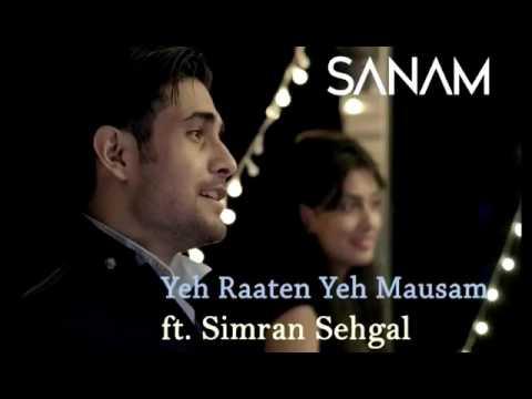 Yeh Raaten Yeh Mausam Lyrics (2014) | Sanam ft. Simran sehgal