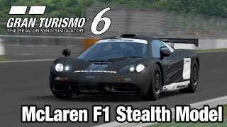 Gran Turismo 6 - McLaren F1 Stealth Model (Fuji Speedway GT) [1440p] TRUE-HD QUALITY