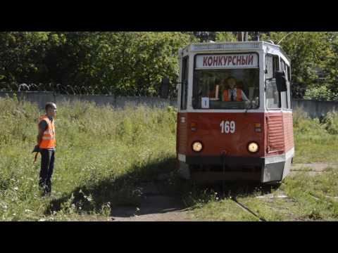 Конкурс профессионального мастерства водителей трамваев, Смоленск