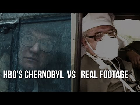 Tige and Daniel - HBO's Chernobyl vs Reality - Footage Comparison