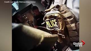 Body Cam Footage Of Police Action During Las Vegas Massacre