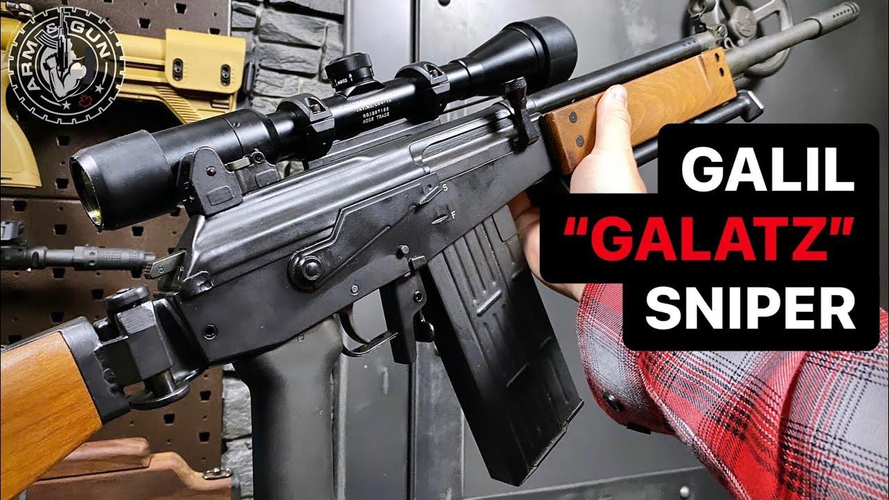 """Galil """"Galatz"""" Sniper Rifle in 1 Minute #Shorts"""